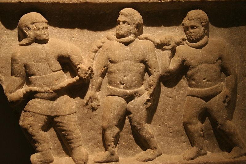 Roman indentured workers