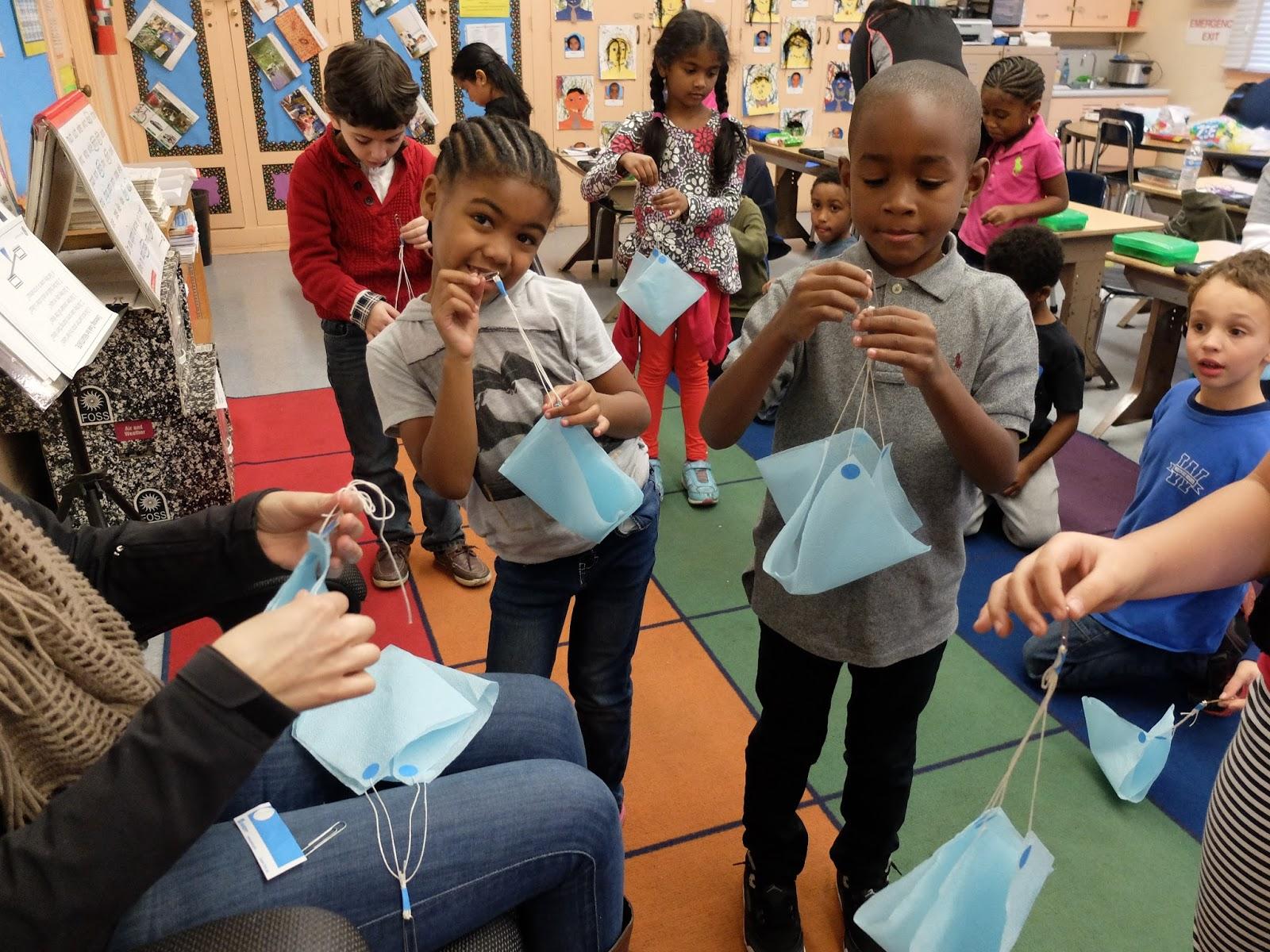 First Grade Adventurers 1st Grade Science Making Parachutes