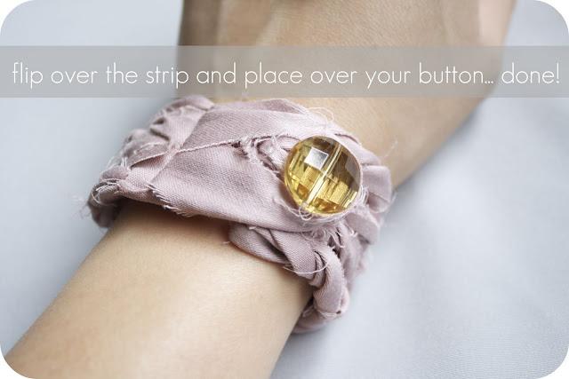как сделать широкий hand-made браслет