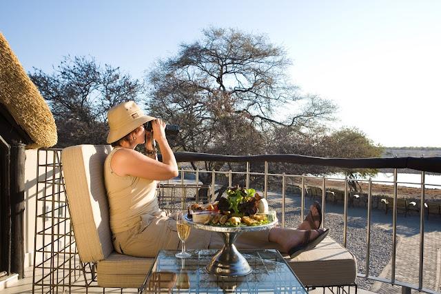 Namibia Okaukuejo Camp in Etosha Park