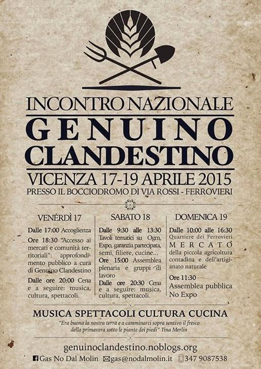 Genuino Clandestino dal 17 al 19 aprile