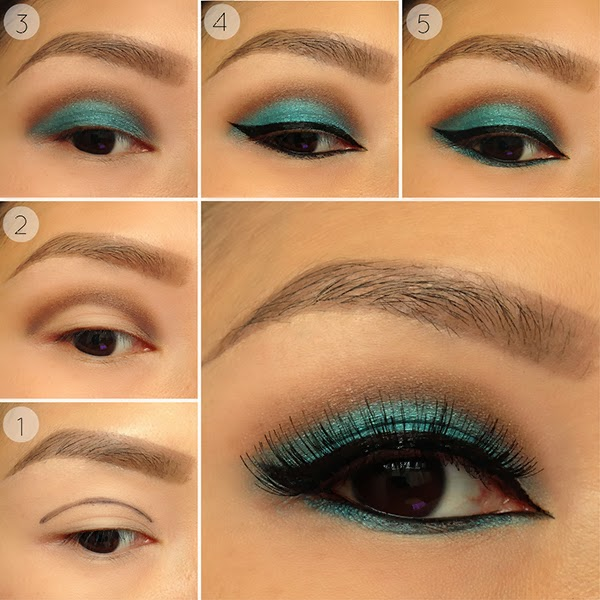 Style By Cat Teal Crease Smokey Eye