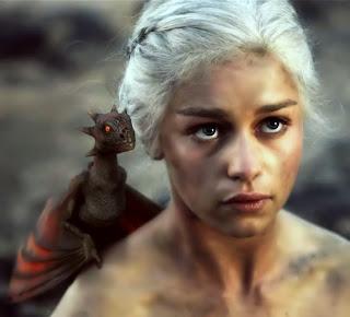 Daenerys Targaryen (Khaleesi) de Juego de Tronos - Emilia Clarke