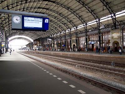 Estación de Haarlem (Holanda).