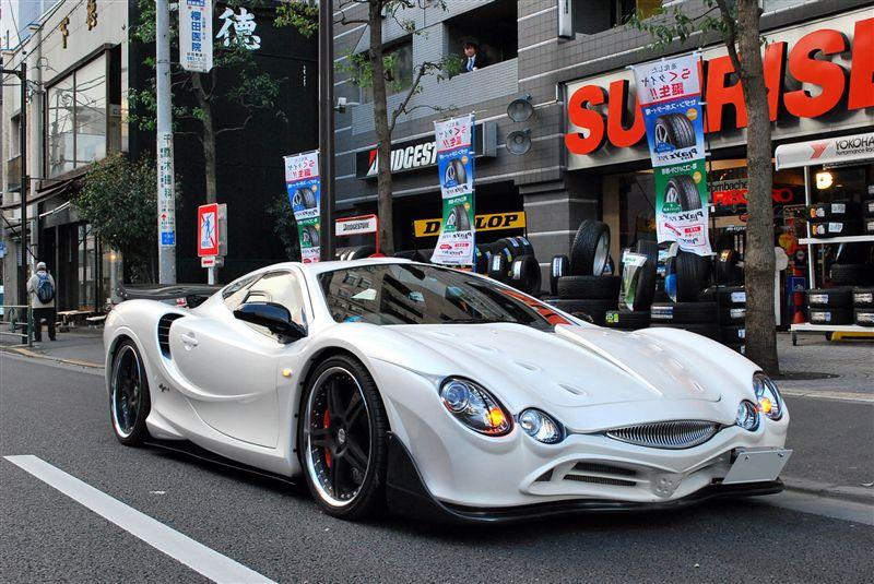 Mitsuoka Orochi 光岡 日本車 japoński sportowy samochód oryginalny design