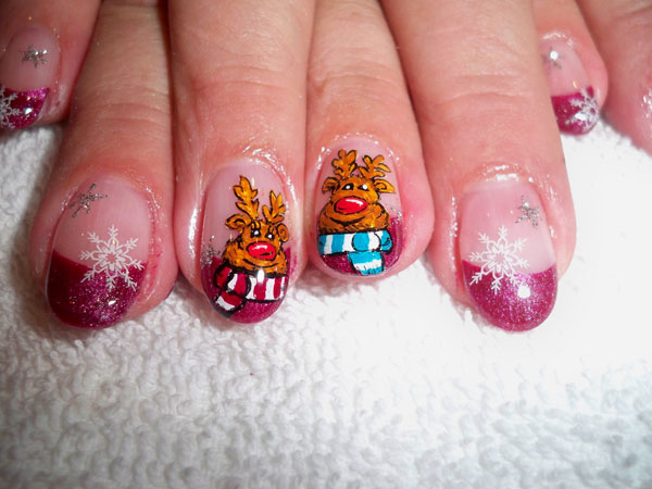 Christmas Nail Art Designs: Christmas Nail Art Design Ideas for 2011