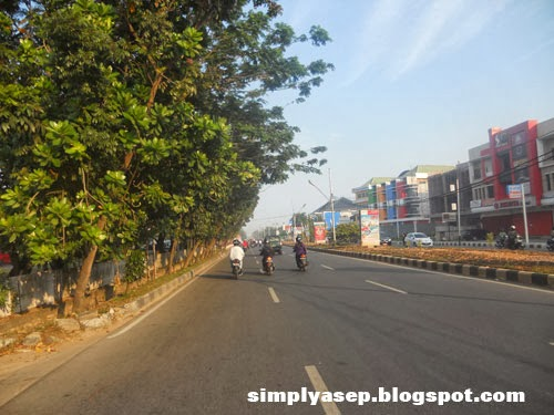 Masih dalam wilayah kota Pontianak. Foto Asep Haryono
