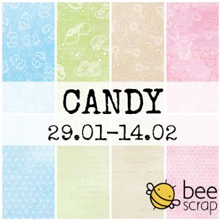 Candy w Bee Scrap