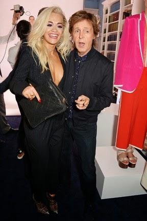 Rita Ora, and Paul McCartney