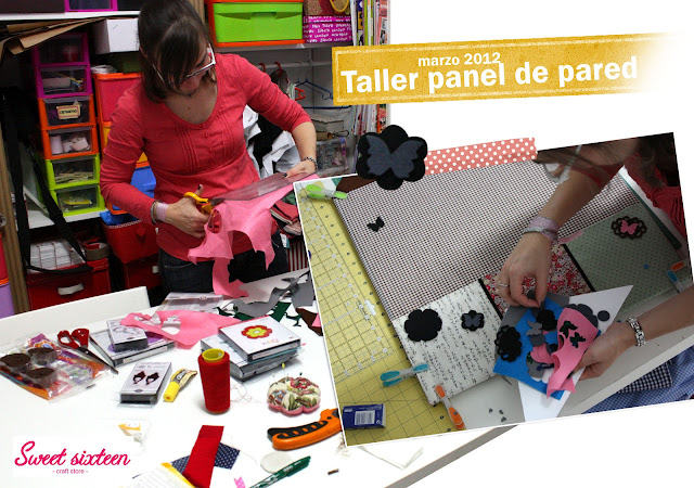 Taller panel de pared en Madrid