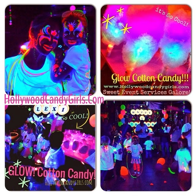 Glow In The Dark Candy Buffet Black Light  Neon  Glow In The