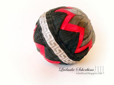 лоскутный шар