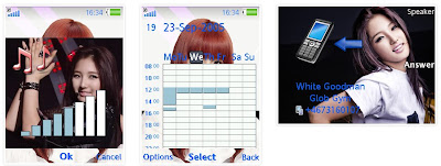 南智賢@4minute SonyEricsson手機主題for Elm/Hazel/Yari/W20﹝240x320﹞