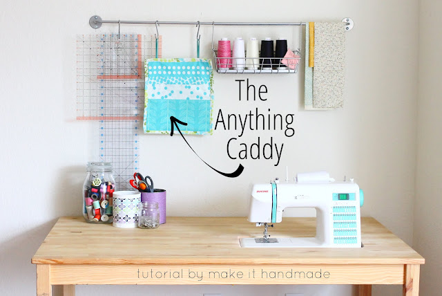 Easy Sewing Pattern: The Anything Caddy