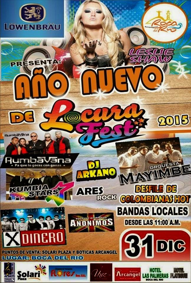 Locura Fest - Año Nuevo en Tacna - 31 de diciembre