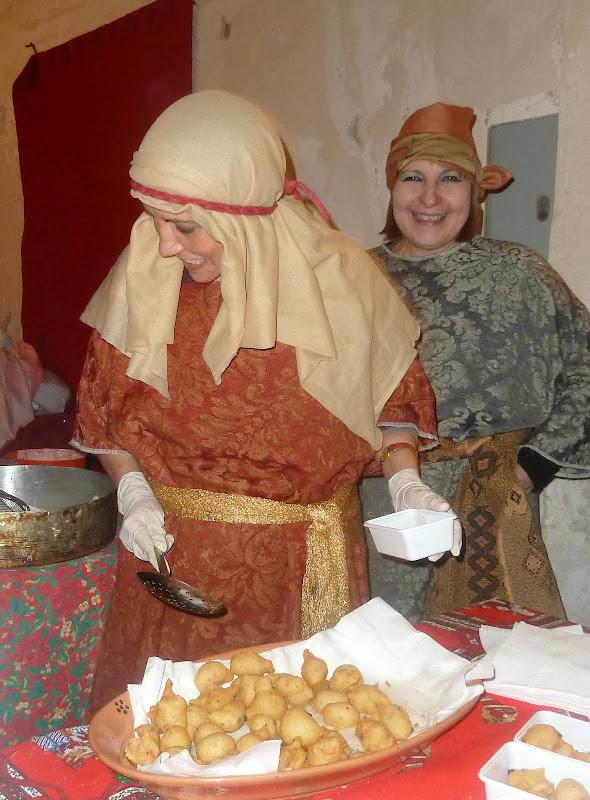 Zubereitung Pittule in Apulien