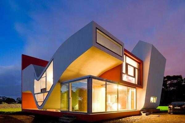 Rumah Modern Futuristik