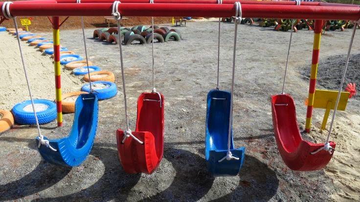 Muitas vezes Brinquedos feitos com pneus - A Arte de Ensinar e Aprender ZF23