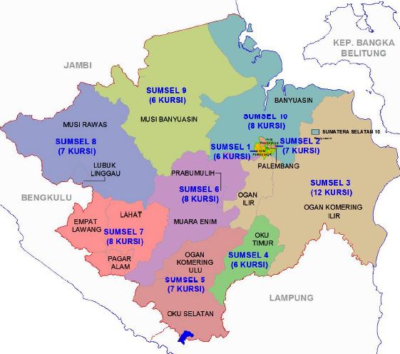 kabupaten dan kota di provinsi sumatera selatan share the knownledge