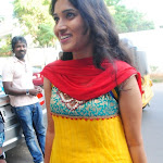 Lalitya New Telugu Actress in Punjabi Dress at Event
