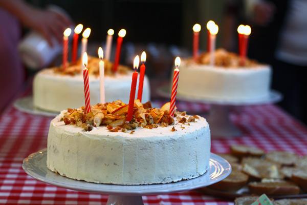 lagkager til fødselsdag