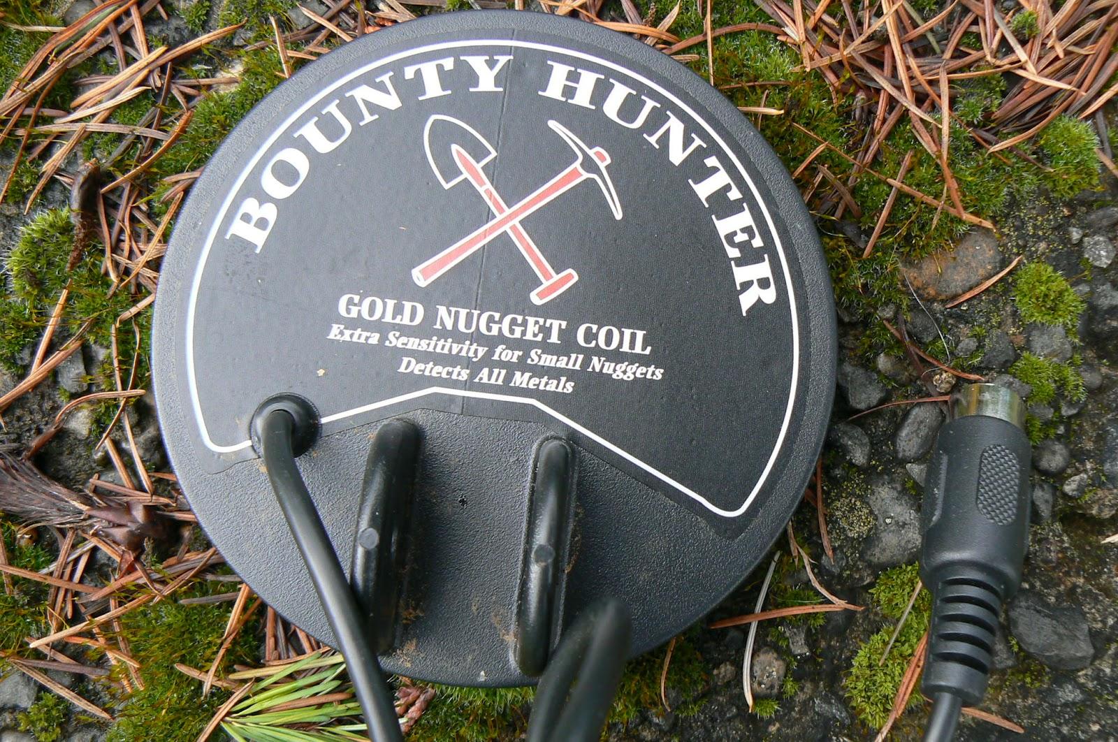 bounty hunter prospector metal detector manual