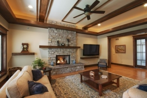 Arts and Crafts Living Room Design Ideas