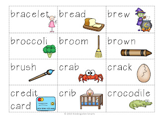 R Blends Worksheets - Br Blend Words by Little Achievers | TpT