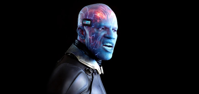 Jamie Foxx Is Electro In The Amazing Spider-Man 2