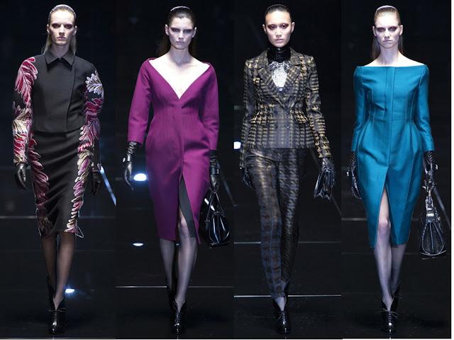 Gucci Fall 2013 - Dangerous Women - 40s silhouettes