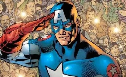 Image result for captain america solute