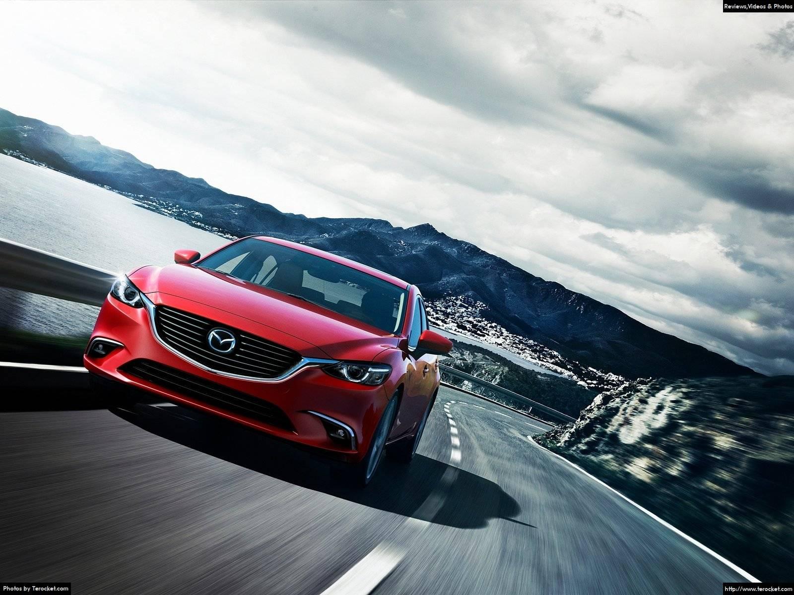 Hình ảnh xe ô tô Mazda 6 2016 & nội ngoại thất