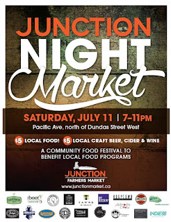 Junction Night Market: Community Food festival to benefit the Junction Farmers Market Food Voucher Program