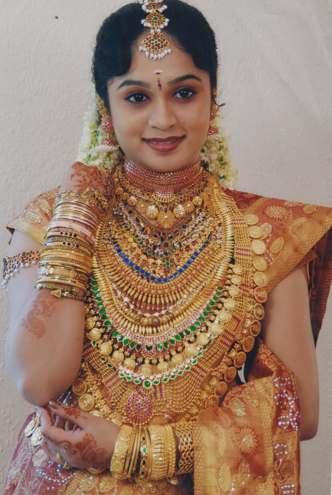 Malayalee Brides with Load of Gold