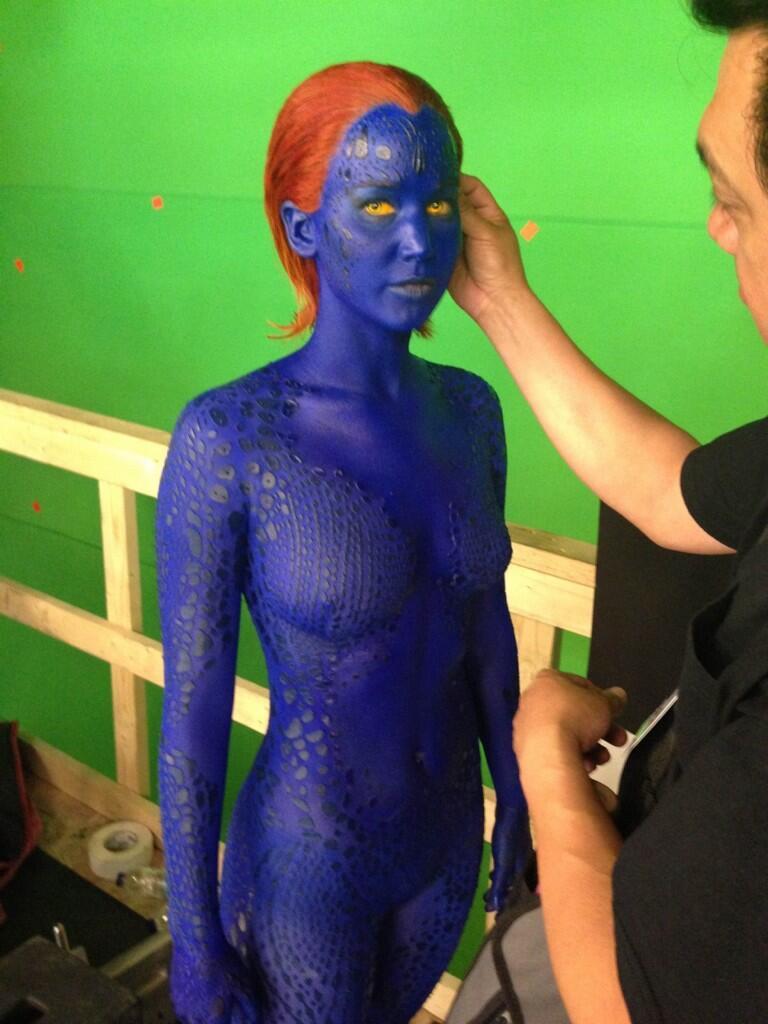 Jennifer Lawrence vuelve como Mistica en X-Men Dias del Futuro pasado