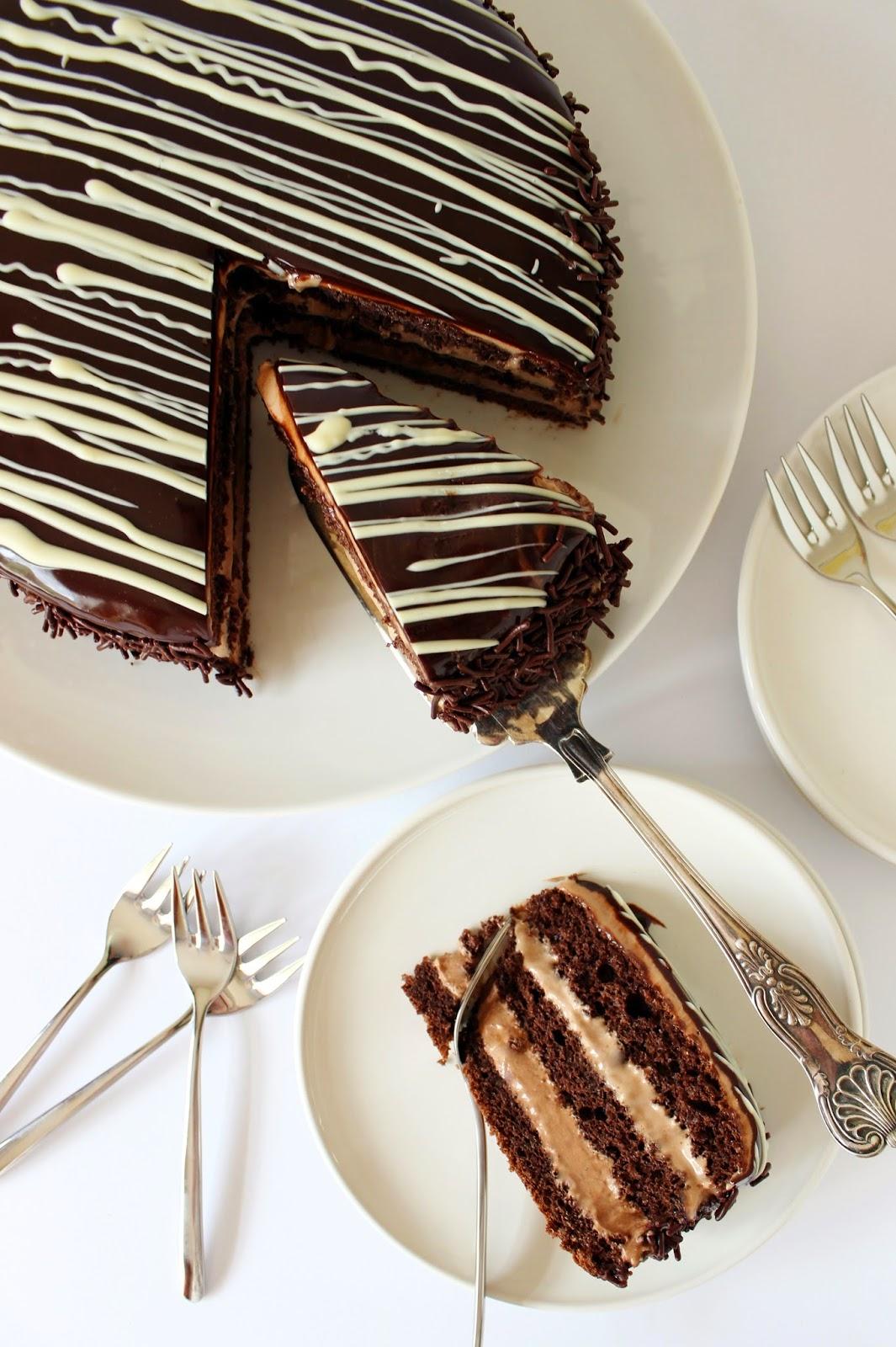 Samba chocoladetaart