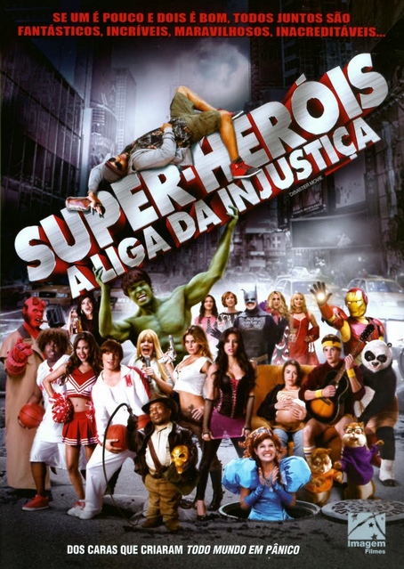 Filme Super Heróis A Liga da Injustiça Dublado AVI DVDRip