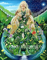 MY PAINTINGS - IRISH GODDESSES