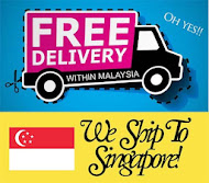 Free shipping in Msia, add a bit more for Sg!