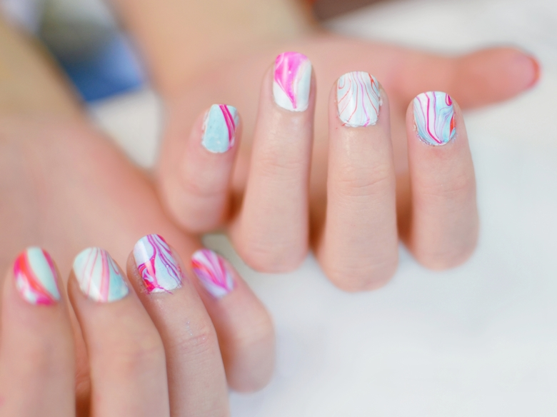 Water_Marble_Nageldesign_Naildesign_einfach_ViktoriaSarina