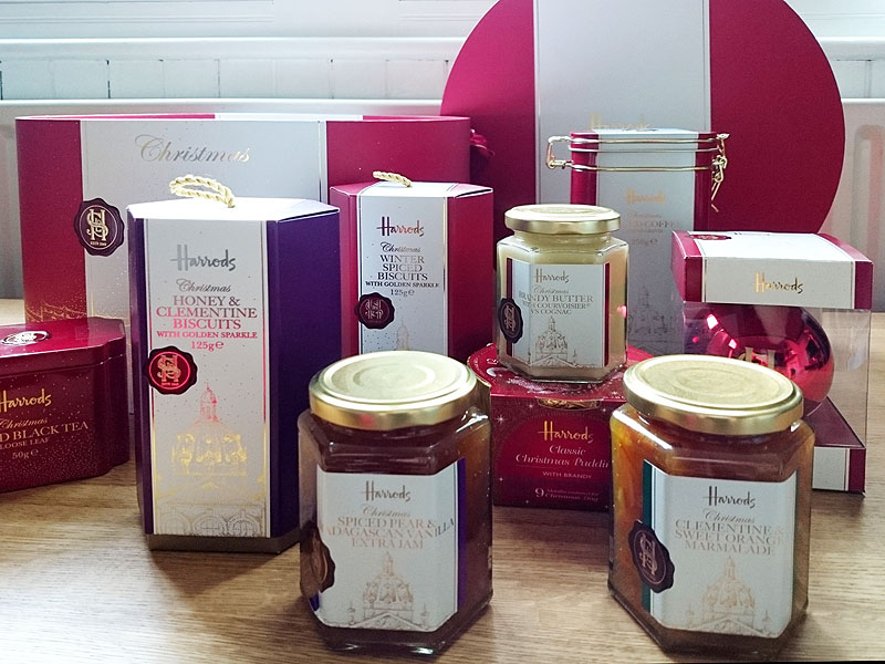 PRODUCT REVIEW: Harrods Christmas Hampers