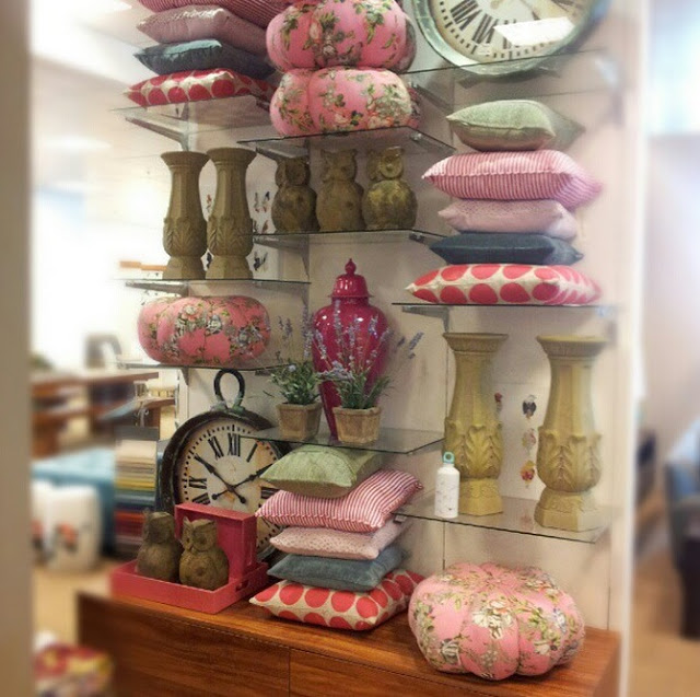 pink homewares - photo by Amy MacLeod
