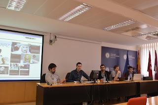 Otro momento de la charla (Foto: Miguel A Moreno)