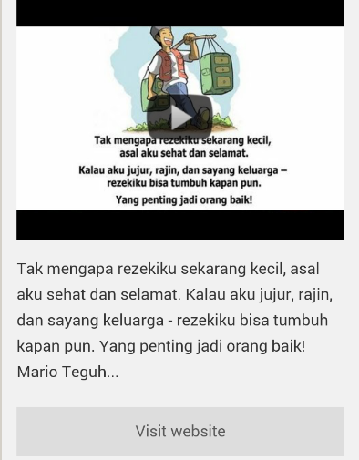 Video Motivasi Mario Teguh