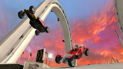 TrackMania, Build to Race, screen, image, nintendo, wii