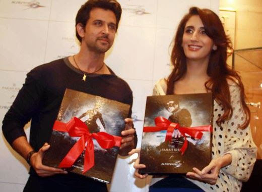Hrithik Roshan launches 'Krrish 3' Jewellery Products