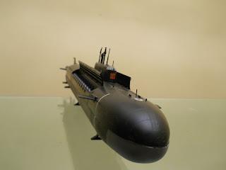 lanzaderas del submarino nuclear K-141 Kursk