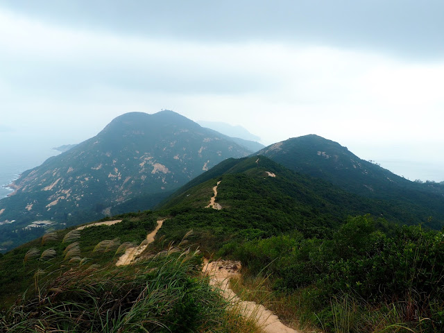 Hills of Shek O Country Park, along Dragon's Back trail, Hong Kong Island