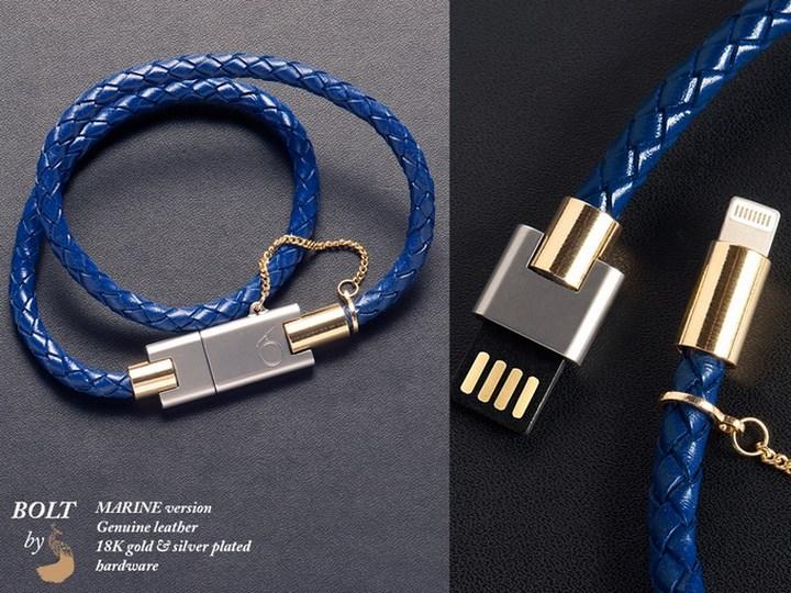 Bolt Iphone Charger Bracelet Spicytec