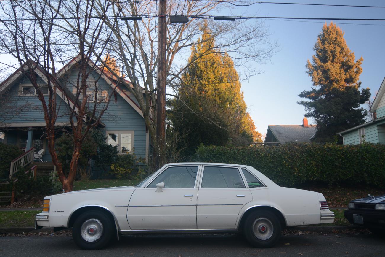 old parked cars 1978 pontiac lemans. Black Bedroom Furniture Sets. Home Design Ideas